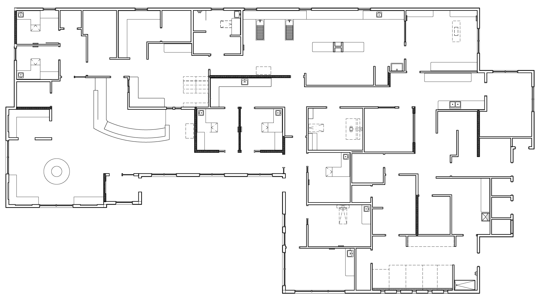 Small hospital floor plan design for Pharmacy floor plan